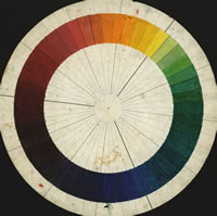 Artist James Wood: Colour Wheel, circa 1920
